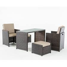 Outdoor Balcony Set by Outdoor Dining Set
