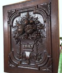 carved wood cabinet doors cabinet door panel solid antique french gothic carved wood salvaged