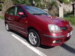 nissan almera down payment bargain 2001 51 nissan almera tino se mpv 5 door hatchback