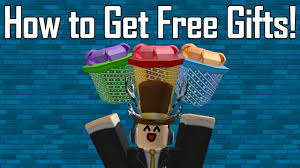 how to get free gifts roblox ended youtube