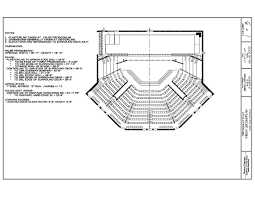 theater floor plan venue technical information uncsa