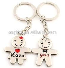 love key rings images Wholedale metal couples key chains for keys love key rings party jpg