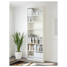 Shallow White Bookcase by Billy Bookcase White 80x237x28 Cm Ikea