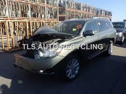 2002 toyota highlander parts parting out 2008 toyota highlander stock 5174or tls auto
