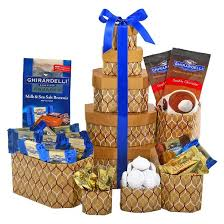 ghirardelli gift basket ghirardelli chocolate 5 tier gift tower target