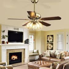 lumiere pour chambre antique style européen salon ventilateur de plafond le led