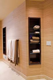 Bathroom Towel Shelves Towel Storage Eclectic Bathroom San Francisco By Bill Fry