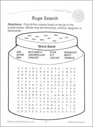 word searches grade 3 ready set learn 051881 details