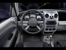 pt cruiser interior chrysler pinterest cars