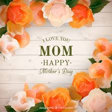 flowers for mothers day background of planks with realistic flowers for mother u0027s day