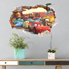 cars characters 3d disney pixar u0027s cars wall decals u2013 the decal house