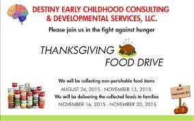 thanksgiving food drive 2015