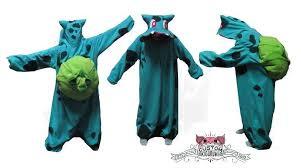 Bulbasaur Halloween Costume Bulbasaur Kigurumi Diemortalroom Deviantart
