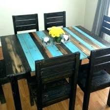 home design marvelous distressed rustic dining table 225012