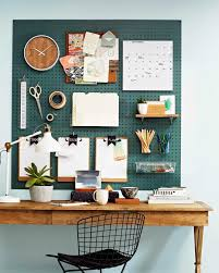 How To Organize Desk by How To Use Pegboards To Organize Your Home Brit Co