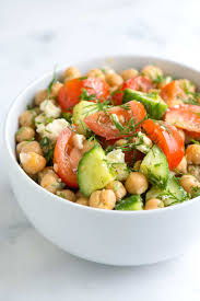 Easy Salad Recipe by Chickpea Salad Recipe With Lemon And Dill