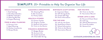 organizing the kids free printable chore charts just a and