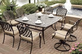 exterior design elegant dark overstock patio furniture with white