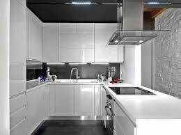 Modern Kitchen With White Appliances Outstanding Modern Kitchen With White Appliances Beautiful White