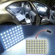 how to change interior light bulb in car 48 smd cob led t10 4w 12v white light car interior panel lights dome