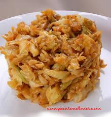 cuisiner choux blanc chou blanc braisé recette végétarienne companion moulinex