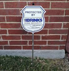 Hi Brinks Burglar Buster 2 Security Yard Sign Brinks Zeppy Io