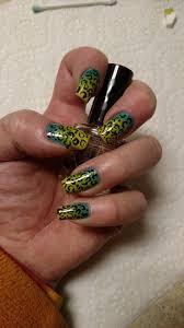 nail designer in richmond va manicure hand painted nail design