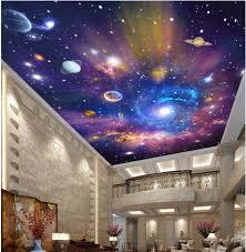galaxy wall mural 3d ceiling wallpaper custom photo mural the way galaxy room