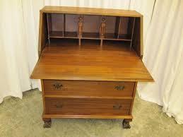 antique drop front desk nice antique drop front desk w pigeon hole compartments for sale