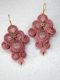 soutache earrings handmade soutache earrings morning tenderness amazing and smart