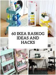Raskog Cart Ideas | 60 smart ways to use ikea raskog cart for home storage digsdigs