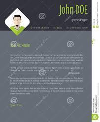 resume cover design cool dark resume cover letter cv template stock illustration cover curriculum design letter resume