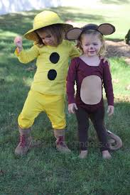 Apple Halloween Costume Baby Diy Halloween Costumes Curious George U0026 Man Yellow