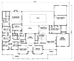 home floor plans with mother in law suite house plans 6 bedroom single story house plans larry garnett