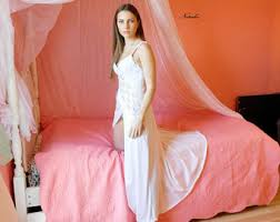 bridal honeymoon nightwear honeymoon nightgown etsy