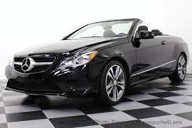 white mercedes convertible 2014 used mercedes e class certified e350 sport package