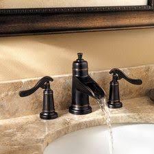 Bathroom Faucets Waterfall Pfister Ashfield 4 In Single Handle Low Arc Bathroom Faucet In