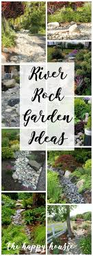 Rocks For Garden Edging River Rock Garden Edging Ideas Design Gravel Types For A