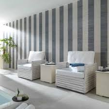 this striped design by porcelanosa is perfect for a pool area