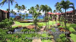 Papakea Resort Map Incredible Maui Luxury Vacation Rental At The Oceanfront Papakea