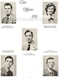 class yearbook duryea pennsylvania historical homepage 1951 duryea high school
