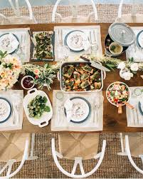 thanksgiving dinner martha stewart see how supermodel and supermom molly sims sets her