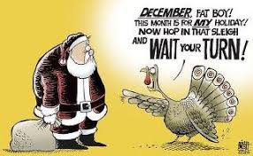 not putting up decorations before thanksgiving home