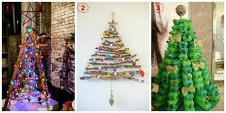 ladder christmas tree deck the walls with your christmas tree craft kiddies