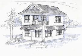 perspective drawings of buildings