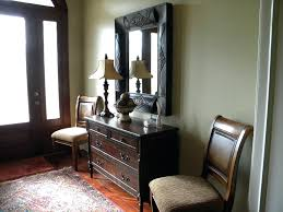 Small Entry Table by Entryway Lighting Ideas Entry Table With Mirror Entrance Decor