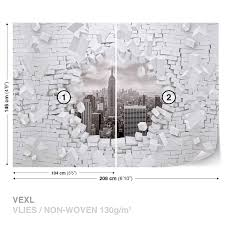 wall mural photo wallpaper xxl new york city skyline brick 2721ws wall mural photo wallpaper xxl new york city