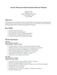 sample human resources resume cover letter entry level calendar