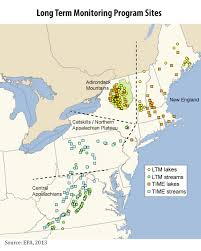 northeastern cus map clean air markets monitoring surface water chemistry clean air