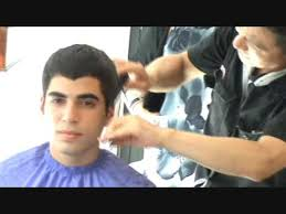 shingling haircut scissors over comb haircut for guy switchscissors youtube